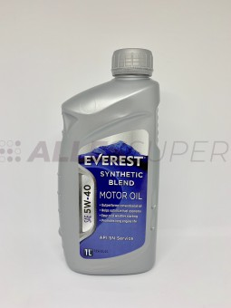 Everest Масло моторное 5W40 SN (A3/B3/B4) (synt.) (1л)